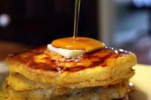 butternut squash n pumpkin pancakes