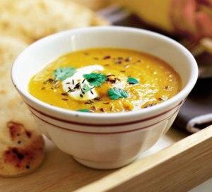 carrot n lentil soup