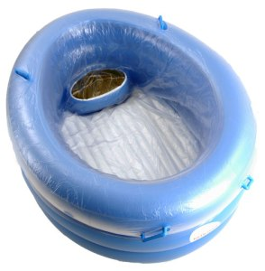 "Water Birth Tub-from""Birth Pool in a Box"""